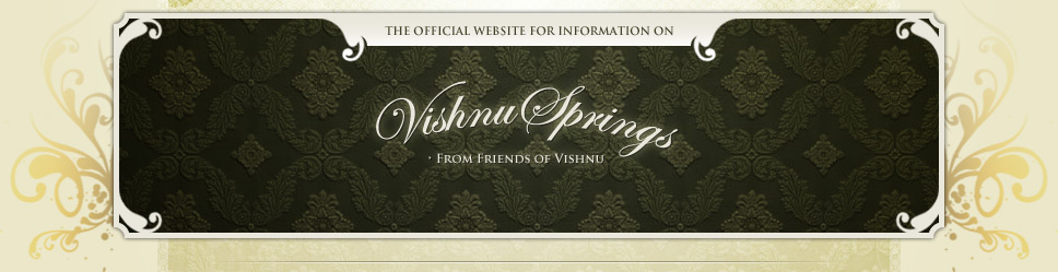 The Official Website for Information on Vishnu Springs
